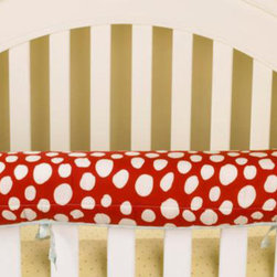 Cotton Tale Designs - Lizzie Front Cover Up - A quality baby bedding set is essential in making your nursery warm and inviting. All Cotton Tale patterns are made using quality materials and are uniquely designed to create your perfect nursery. The Lizzie front cover up is both function and design. What a great idea, this front rail cover up protects your foot board on the convertible cribs and it looks great. For the parent choosing not to use a bumper, it can add the needed decor lost when the bumper is removed. Cover ups can be used with a full bumper as well. All Cotton Tale and N. Selby patterns have matching crib rails cover ups. Wash gentle cycle, separate, cold water. Tumble dry low or hang dry. 100% cotton shell with poly fill.