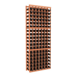 Wine Racks America - 7 Column Standard Wine Cellar Kit in Redwood, (Unstained) - Don't let that spectacular case get away. This easy-to-assemble racking system is made of redwood, gentle on bottles and pleasing to behold. Here's to your growing collection!