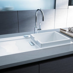 "Starck K Series By Duravit - A SINK WITH AN ""OUTSTANDING"" BASIN. 