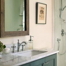 Traditional Bathroom by Elza B. Design, Inc.
