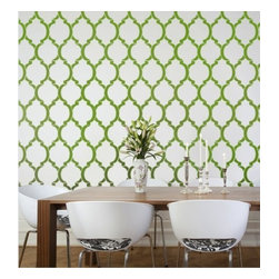 Cutting Edge Stencils - Moroccan Dream Wall Stencil Pattern - Reusable Stencils instead of Wallpaper - Try wall stencils instead of expensive wallpaper! Cutting Edge Stencils offers the best stencils for DIY décor - stencils expertly designed by professional decorative painters Janna Makaeva and Greg Swisher who have over 20 years of painting experience. We are a reputable stencil company that stands behind its high quality product. We are honored to have your 100% positive feedback