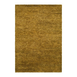 Safavieh - Bohemian Brown Area Rug BOH211A - 2' x 3' - Safavieh's Bohemian Collection is all-organic, with exquisitely fine jute pile woven onto a cotton warp and weft, and an earthy natural color palette. The high quality jute chosen for our Bohemian rugs is biodegradable and recyclable, with an innate sheen because it is harvested only from Cannabis Sativa (commonly known as the  true hemp plant), a quickly renewable resource that excels in length, durability, anti-mildew and antimicrobial properties. Safavieh brings fashion excitement to the eco-friendly rug category with the Bohemian collection's unique patterns, ribbed textures and remarkable hand. The rugs are washed to soften the yarn, and then brushed to an even more lustrous sheen. Hand Knotted in India.