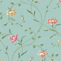 York Wallcoverings - PS3894 Wallpaper, Sample - Prepasted: Paste has already been applied to the back of the wallpaper and is activated with water.