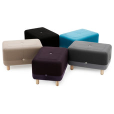 Contemporary Ottomans And Cubes by Normann Copenhagen