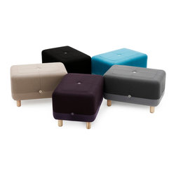 Sumo Pouf - The Sumo pouf by Danish Simon Legald for Normann Copenhagen comes in different shades of ombré. It's playfully designed to suit both the modern and the classical home.