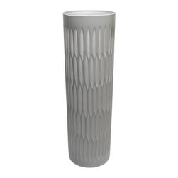 Vita V Home Maska 16-in. Vase - About Vita V HomeLocated in Elk Grove Village, Illinois, Vita V Home is dedicated to bringing the world's best home decor and accessories to you. Spanning contemporary, transitional, and traditional styles in everything from hand-blown glass to carved wood to cast resin, this incredible collection is ready to add to any space.