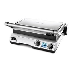 Breville - Breville Die Cast The Smart Grill Indoor Grill - You don't have to wait for summer to grill up your favorite meal with an indoor grill. Treat it like a traditional barbecue or adjust the heating panels to avoid crushing your food and get cooking. You can even use it for making paninis or searing meats. It's a great addition to any home kitchen.