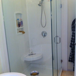 Trending - Solid Surface verses tile in the shower -