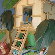 tropical kids beds by SweetDreamBed.com