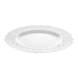 Dressed Dining Plate by Alessi