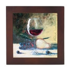 Franmara - 8 Inch Square Ceramic Trivet with Wine Glass and Fruit Art Image - This gorgeous 8 Inch Square Ceramic Trivet with Wine Glass and Fruit Art Image has the finest details and highest quality you will find anywhere! 8 Inch Square Ceramic Trivet with Wine Glass and Fruit Art Image is truly remarkable.