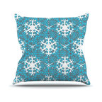 """Kess InHouse - Miranda Mol """"Precious Flakes"""" Throw Pillow (Outdoor, 16"""" x 16"""") - Decorate your backyard, patio or even take it on a picnic with the Kess Inhouse outdoor throw pillow! Complete your backyard by adding unique artwork, patterns, illustrations and colors! Be the envy of your neighbors and friends with this long lasting outdoor artistic and innovative pillow. These pillows are printed on both sides for added pizzazz!"""