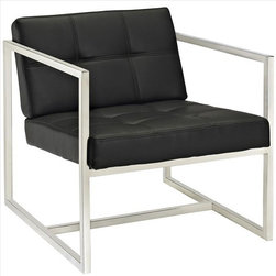 Modway - Hover Lounge Chair in Black - EEI-263-BLK - Hover Collection Chair