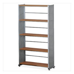 Mayline - Mayline Eastwinds Five Shelves Shelving Bookcase in Medium Cherry - Mayline - Bookcases - 995MEC - Eastwinds computer furniture is designed for the technology-driven office and adaptable to a variety of environments.Features: