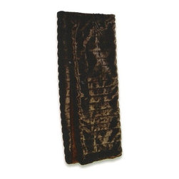 """CCCC-B-1003 - Faux Fur Mink Throw Blanket - Faux fur mink throw blanket with soft liner. Measures 50"""" x 60"""". These are custom made in the U.S.A and take 4-6 weeks lead time for production."""