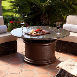Fire Pits - Have your brunch or hors d'ourves in style with a California Outdoor Concepts fire pit.