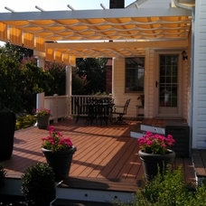 Contemporary Deck by Smart Choice Contractors