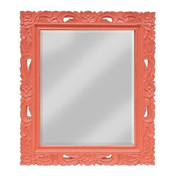 EuroLux Home - New Mirror Pink Painted Hardwood TW-84 - Product Details