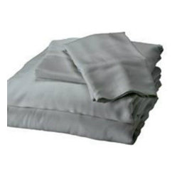 Bamboo Twin Sheet Set, Platinum