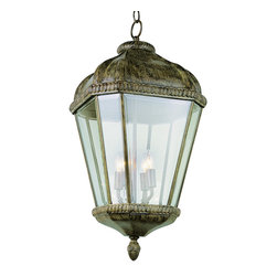 Trans Globe - Trans Globe 5156 Brt 4-Light Hanging Lantern - Trans Globe 5156 BRT 4-Light Hanging Lantern