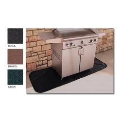"Goods of the Woods - Rectangular Grill Mat, Black, 30"" X 42"" - 30"" x 42"" Black Rectangular Grill Mat"