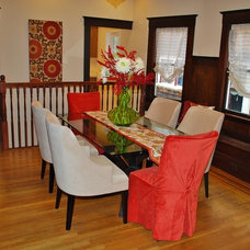 Eclectic Dining Room by Project Guru