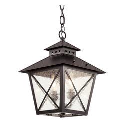 Trans Globe Lighting - Trans Globe Lighting 40174 BK Transitional Outdoor Hanging Light - Trans Globe Lighting 40174 BK Transitional Outdoor Hanging Light