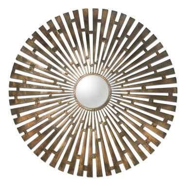 Uttermost - Uttermost 12846 Brushed Brass Tremeca Brass Starburst Mirror - Uttermost 12846 Tremeca Brass Starburst Decorative Mirror Tremeca Brass Starburst Decorative MirrorUttermost combines premium quality materials with un