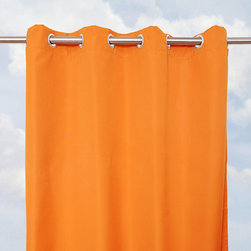 None - Sunbrella Bay View Tuscan 96-inch Outdoor Curtain Panel - Crafted with high-performance weatherproof material,these tuscan Sunbrella outdoor drapes offer a stylish way to accent your outdoor living space. The drapes will provide you with contemporary style that is tough enough to withstand the elements.
