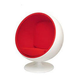 Modern Classics - Aarnio: Ball Chair Reproduction - Petite - Features: