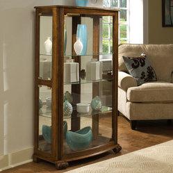 Pulaski Furniture - Mantel Curio in Pepper Oak by Pulaski ...