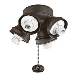 Kichler - Kichler 350011SNB 4 Light Turtle Fixture - Kichler 350011SNB 4 Light Turtle Fitter