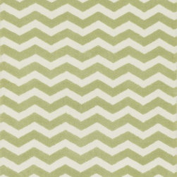 "Loloi Rugs - Loloi Rugs Zoey Collection - Green, 2'-0"" x 3'-0"" - Zoey is a delightful collection of lighthearted, cheerful patterns in pinks, blues and greens that are perfect for young kids or the young at heart. Power loomed in China of super soft polyester microfiber, Zoey rugs are durable, yet soft enough for infants and toddlers to cozy up to.�"