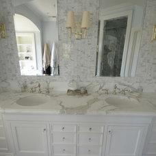 Traditional Bathroom by PIETRA FINA, Inc.