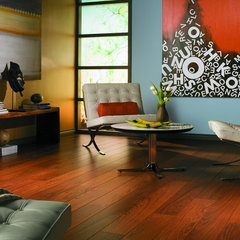 eclectic laminate flooring by Paul Anater