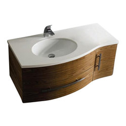 VIGO VG09005108LHK1 Single Bathroom Vanity