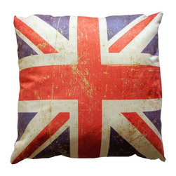 The Pillow Warehouse - British Flag - Union Jack Pillow - •Super Soft high quality Ultra Suede