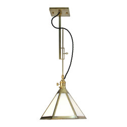 Brass Century - Adjustable Brass Pendant  - Hand-crafted in our workshop.
