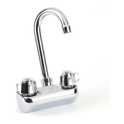 """Century Hardware - 4"""" Wall Mount Faucet - Commercial Faucet"""