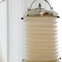 Turkish Hanging Lantern - Add ambience to the bath by hanging one or two of these Turkish lanterns over the tub or sink. Light candles inside for a warm glow while you soak in the tub.