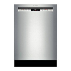"Bosch 24"" Recessed Handle 800 Series Dishwasher, Stainless Steel 