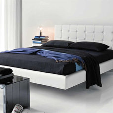 Modern Beds Franklyn Designer Leather Bed By Cattelan Italia