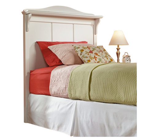 Sauder - Sauder Pogo Twin Headboard in Soft White - Sauder - Headboards - 414676 - About The Sauder Pogo Collection: