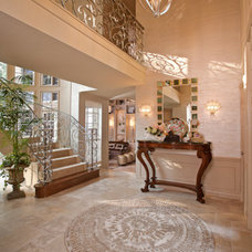 Contemporary Entry by By Design Interiors, Inc