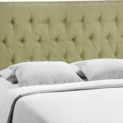 Modway Imports - Modway MOD-5202-GRN Clique Queen Headboard In Green - Modway MOD-5202-GRN Clique Queen Headboard In Green