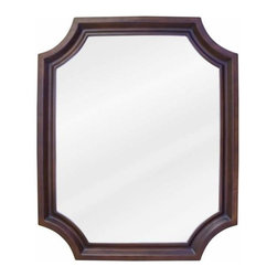Elements - Bath Elements Abbot 22 X 27 Toffee Mirror - Bath Elements Abbot 22 X 27 Toffee Mirror