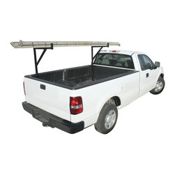 Pro Series - Multi-use Truck Rack - Never be without a needed supply with a multi-use truck rackTruck exterior accessory mounts to either side of the bedCargo carrier bases are bolted to front and rear truck bed
