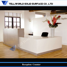 Stylish customized design contemporary salon reception desk, View salon receptio