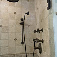 Mediterranean Bathroom by Simply Baths & Showcase Kitchens