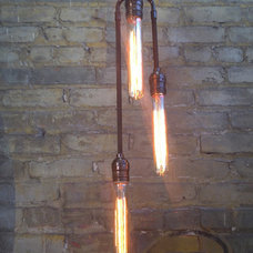 Eclectic Pendant Lighting by Omega Lighting Design